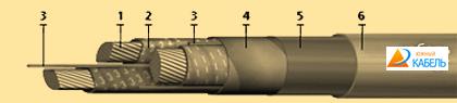 кабель СГ-6, купить кабель силовой СГ-6, цена на силовой кабель СГ-6, кабель СГ-6 характеристики