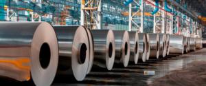 Крупный алюминиевый завод в Израиле